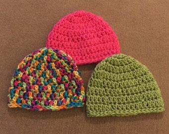 Newborn Hats Set of Three