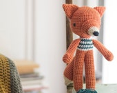 Crochet Amigurumi Fox Pattern. Lucas Fox.