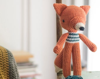 Crochet Amigurumi Fox Pattern. Lucas Fox.