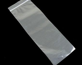 3 x 8 inch zip top reclosable storage bags, 100 pcs