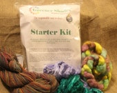 Greener Shades Fiber Dye-Starter Kit - Earth Friendly Dye - American Made Dye - Free Fiber