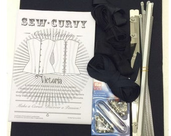Victorian Corset Kit by Sew Curvy