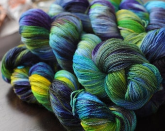 Hand Dyed Core Sock Yarn - Astronomy