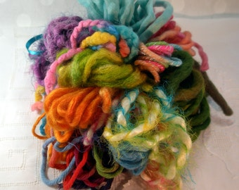 Art Yarn Assortment Thick and Chunky Colorway
