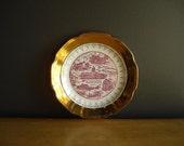 Kentucky Love -  Small Vintage KY State Plate - Vintage Souvenir Plate - KY Plate