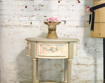 Painted Cottage Shabby Romantic Night Table NT804
