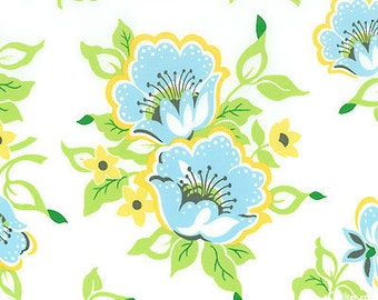 Heather Bailey, Church Flowers in Blue, 1 yard
