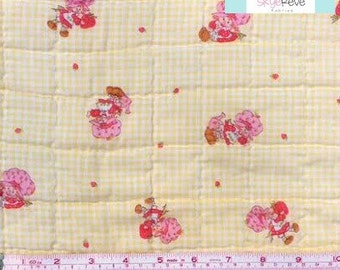 Vintage Strawberry Shortcake Baby Blanket