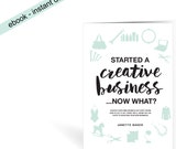 eBook 2 - Started a creative business ...now what?