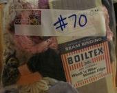 1/2 LB Grab Bag of Vintage Trims, Laces, Ribbons Etc No. 70 (Buy 4, Get 1 Deal)