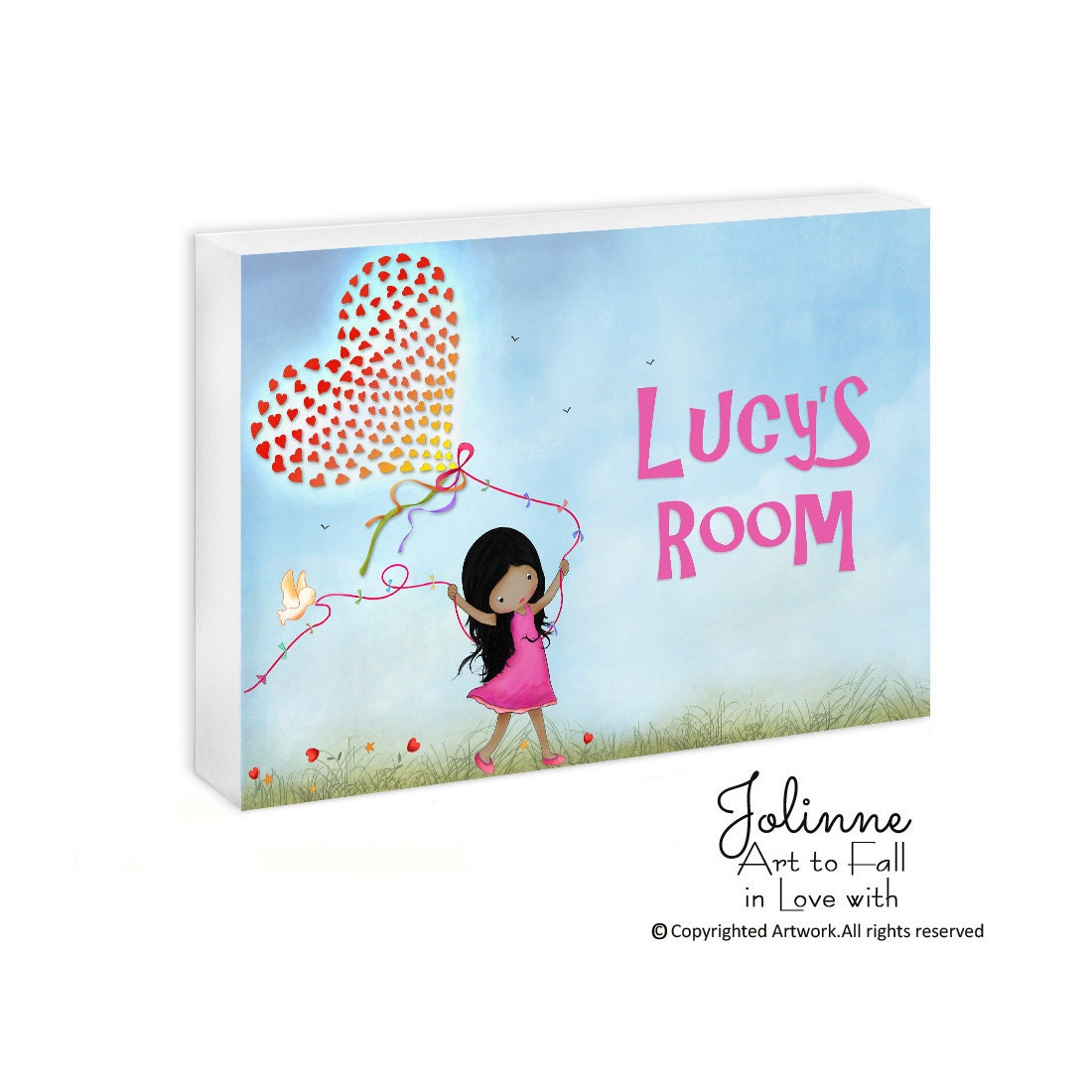Personalized children door sign kids room sign girl nursery for Kids room signs