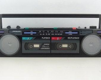 Vintage 80's SOUNDESIGN boombox GHETTO BLASTER cassette deck radio