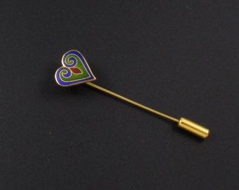 Heart Stickpin, Metropolitan Museum of Art , Heart Pin, Metropolitan Museum of Art Heart Brooch, Celtic Jewelry, Valentine Jewelry