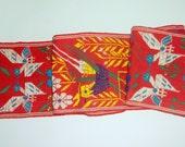 Vintage Ethnic embroidered Bohemian Sash