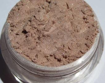 Cremig weich Brown Eye Shadow / leichte rosa Highlight / Vegan Mineral Auge Schatten / Licht schimmern-Ladies warten