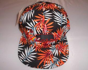Snapback Flat-Brim Hat - Left Coast Love (One-of-a-kind)