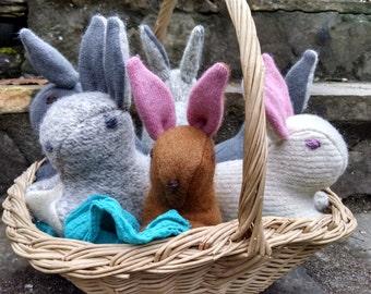 Waldorf Gray Bunny Rabbit