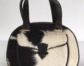 Vintage 60s Pony Skin Handbag Tano of Madrid Spain