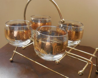 CULVER Roly Poly Drinking Glasses