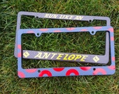 2 Pack of License Plate Frames Mix a Pair