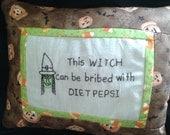 Witch wirh DIET PEPSI
