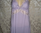 Victorias Secret Cotton and Lace Camisole Babydoll Nightgown