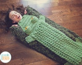 NEW PATTERN Snappy Simon Crocodile Sleeping Blanket Bag PDF Crochet Pattern with Instant Download