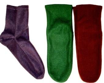 Men's Fleece Socks, Bed Socks, Warm Socks for Men, Gifts for Men, Soft Warm Men's Socks, Men's Polar Fleece Socks, Gift for Dad, Gifts