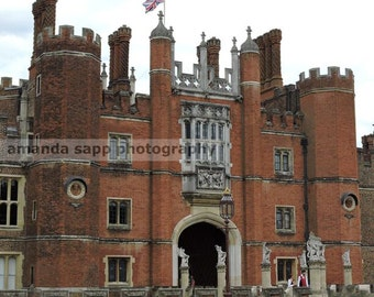 Hampton Court Henry VIII color photograph