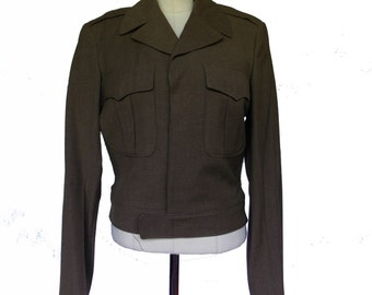 Vintage 1950's Mens Army Jacket