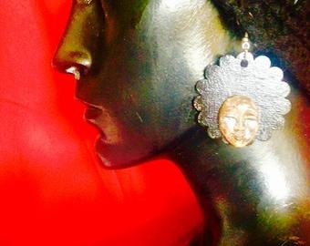Funky Fro earrings