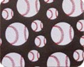 Baseballs Chocolate Transfer Sheet