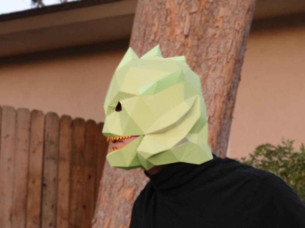 Make Your Own Paper Creature from the Black Lagoon Mask with ...