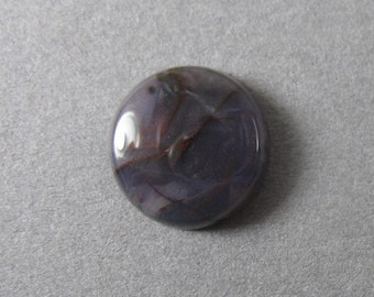 Purple Cow Jasper Round Cabochon 13 mm ~ 1/2 inch