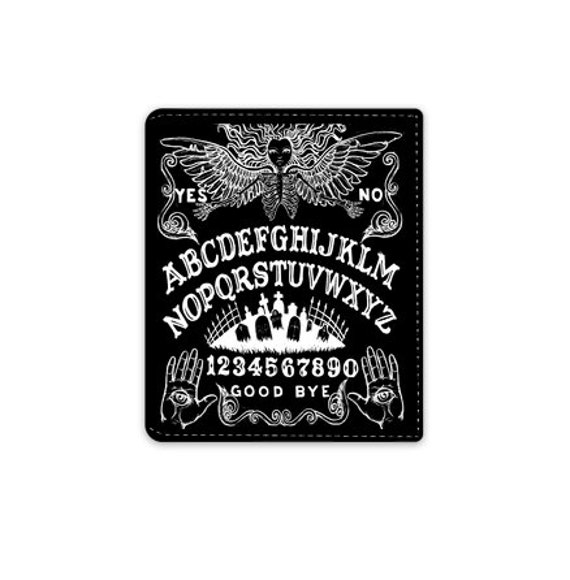 Ouija Board leather Wallet