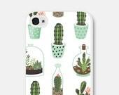 Cactus iPhone 6 Case Samsung Galaxy S7 Case iPhone 6 Plus Case iPhone 6s Case Tech Gifts Cactus Phone Case Cactus iPhone 5 Case CCo