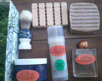 Vegan Man Shaving and Deodorant Gift Set