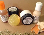 98% Natural TRIAL Treatment Pack~Sea Buckthorn/Tamanu~Oily/Acne Prone Skin types-Free Shipping