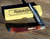 Remington UMC R1253 Limited Edition Bullet Lockback Pocket Knife 1992 Collectible