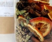 Organic Mulling Spices - 1 Gallon Size - Mulled Wine - Spiced Cider