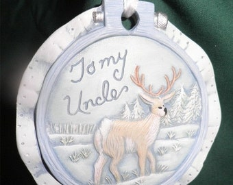 END of WINTER SALE 40%Off To My Uncle Ornament