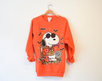 Vintage Snoopy Halloween Sweatshirt