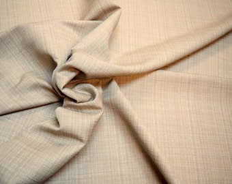 Grey Textured Curtain Fabric Atlantis