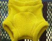 Custom Order: upcycled wool soaker with extra layer
