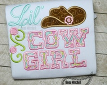 Lil' Cowgirl applique