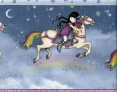 Santoro Rainbow Dreams - Quilting Treasures - Fat Quarter