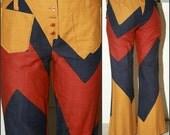 AMAZING 60s 70s vtg mod trousers