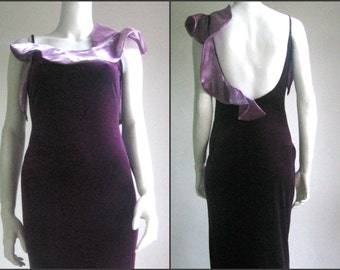 40% off 70s 80s spanish velvet vintage dress