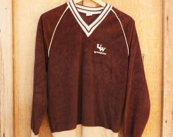 Retro University of Wyoming Shirt - Medium - Made in USA