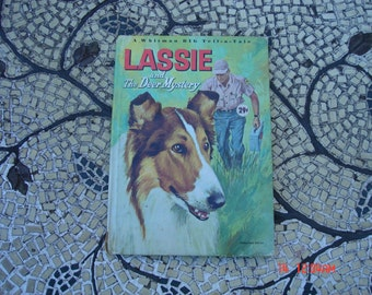 Lassie and The Deer Mystery - A Whitman Big Tell-Tale-Book